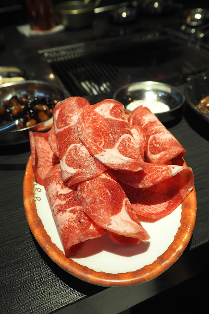 Sliced Ribeye Korean BBQ Raw Meat