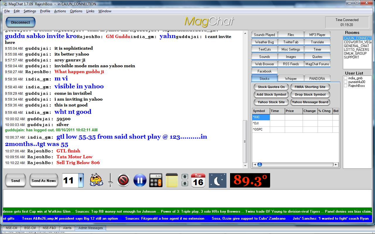 Live Chat Rooms