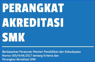 Download Perangkat Akreditasi SMK 2017/2018