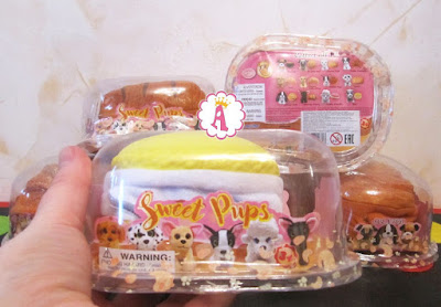 Сладкие щенки игрушки в пирожках