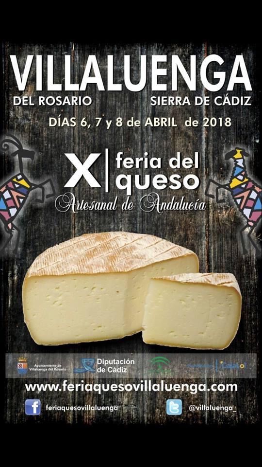 X Feria del queso artesanal Andalucía Sierra de Cádiz 2018