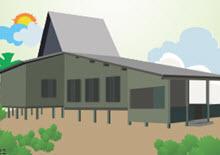 Rumah Adat Kalsel