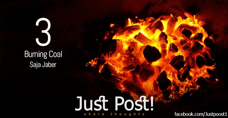 Burning Coal by Saja Jaber