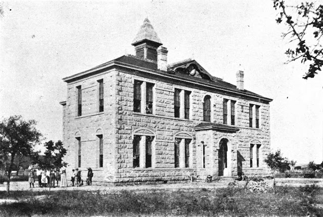 Kerrville Tivy High School in 1899