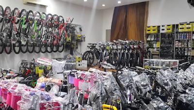 8 Lokasi Toko Sepeda yang ada di Bandar Lampung