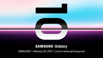 Official announcement of the Galaxy S10 86