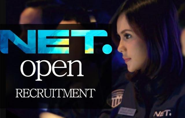 Lowongan Kerja Internship PT Net Mediatama TV, Rekrutment Karyawan Baru Besar-Besaran Seluruh Indonesia.
