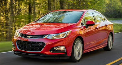 Chevrolet Cruze Rated as One of Top Ten Most Reliable Cars