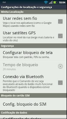 Aprenda a deixar seu Android mais seguro contra curiosos ativando o bloqueio de tela 1