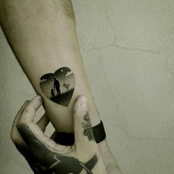 Tattoo Ideas Rip Dad: 50 Best Father Tattoos Designs And Ideas To Dedicate To