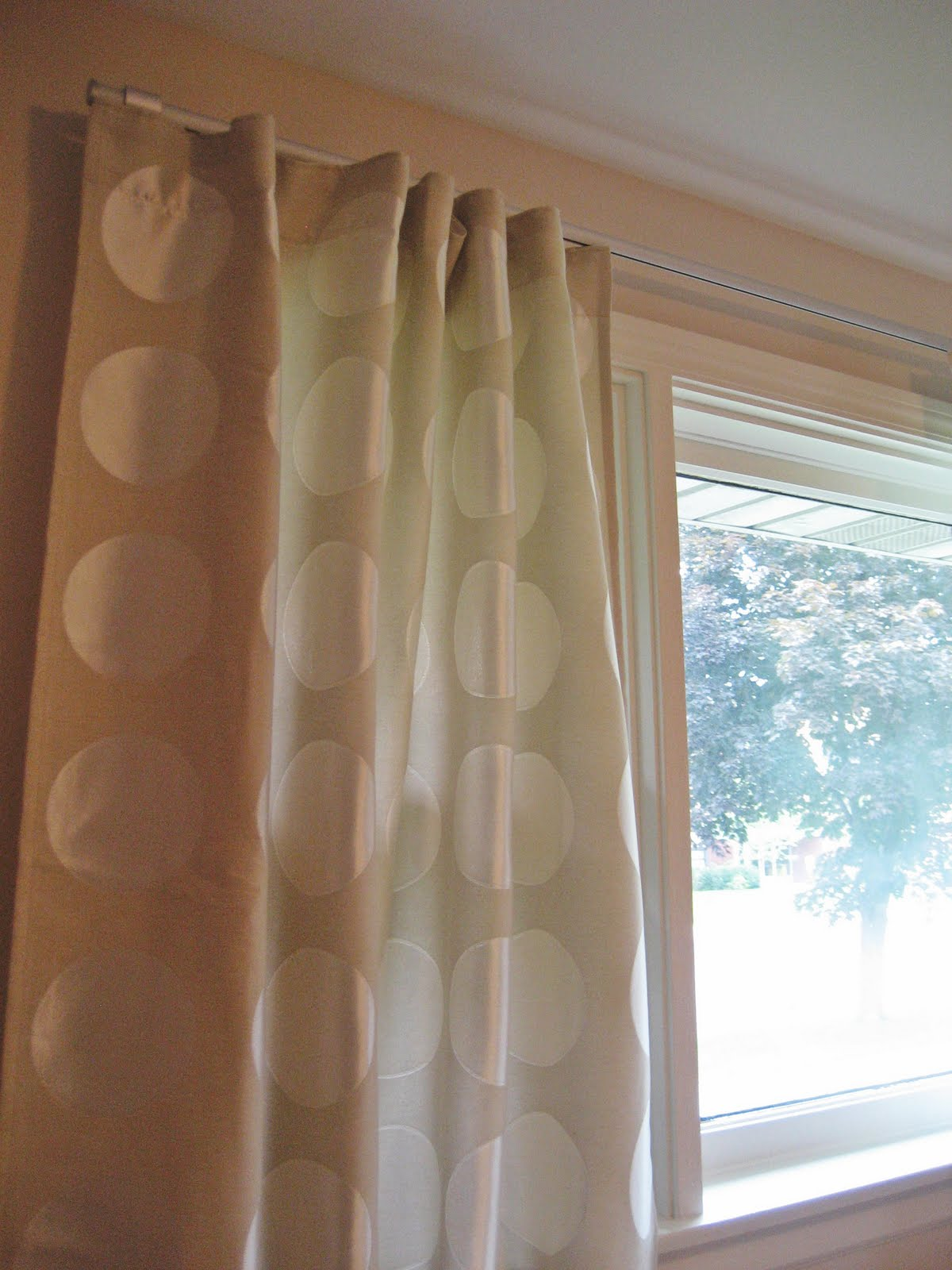 I Bought Two Pairs Of Ninni Rund Curtains And The Kvartal Curtain Track  System (3 Single Track Rails, 1 Corner Piece, 5 Brackets, And 2 Sets Of  Gliders).