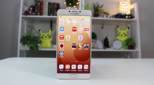 Harga Samsung Galaxy C9 Pro baru