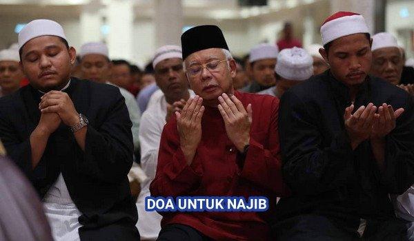 Ayuh berdoa untuk DS Najib dan keluarganya