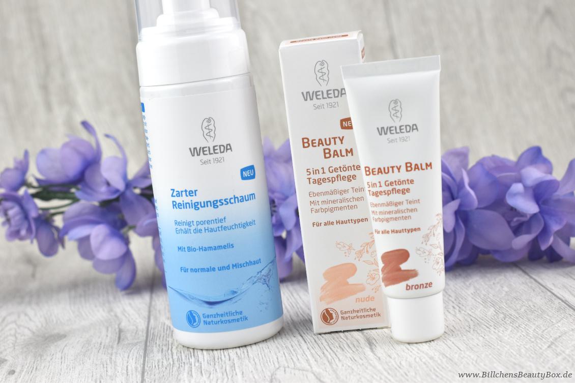 Review Weleda Naturkosmetik Beauty Balm und Zarter Reinigungsschaum