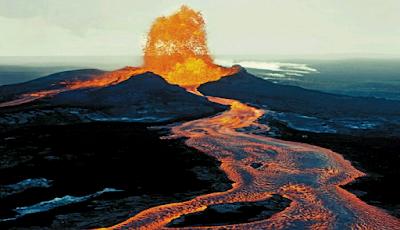 Gunung Mauna Loa Hawaii