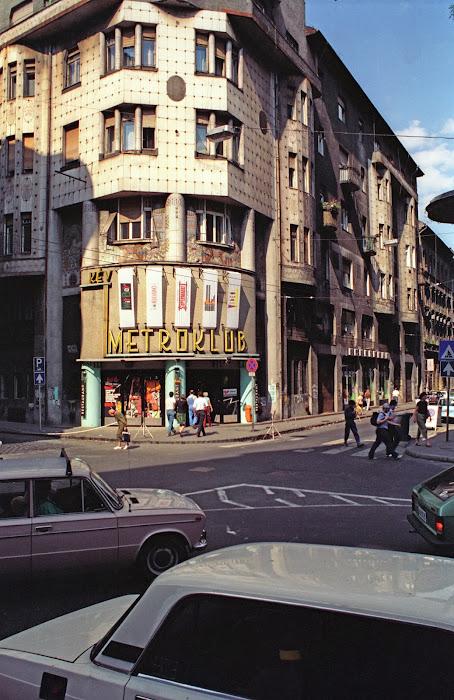 Budapest, Metroklub, © L. Gigout, 1990
