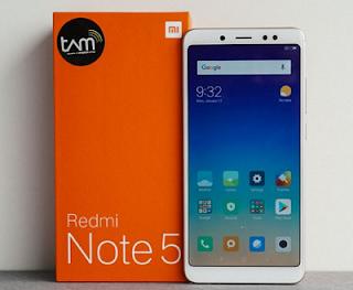 Harga Xiaomi Redmi Note 5 (64 GB)