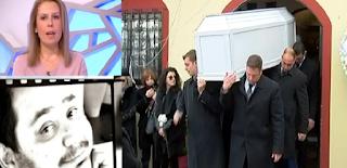 Θλίψη στην κηδεία του ηθοποιού Βαγγέλη Ρωμνιού – Έσβησε στα 36 χρόνια του