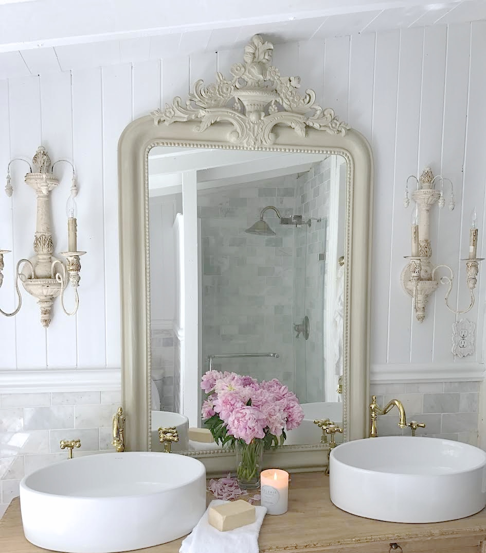 Country French Bathrooms: French Cottage Bathroom Vanity: How To Get The Look