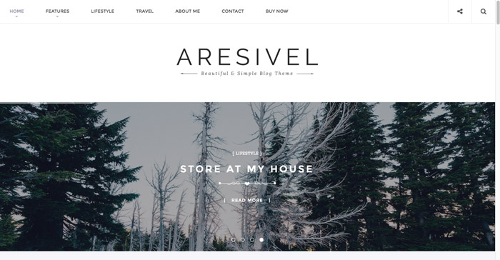 Aresivel Theme