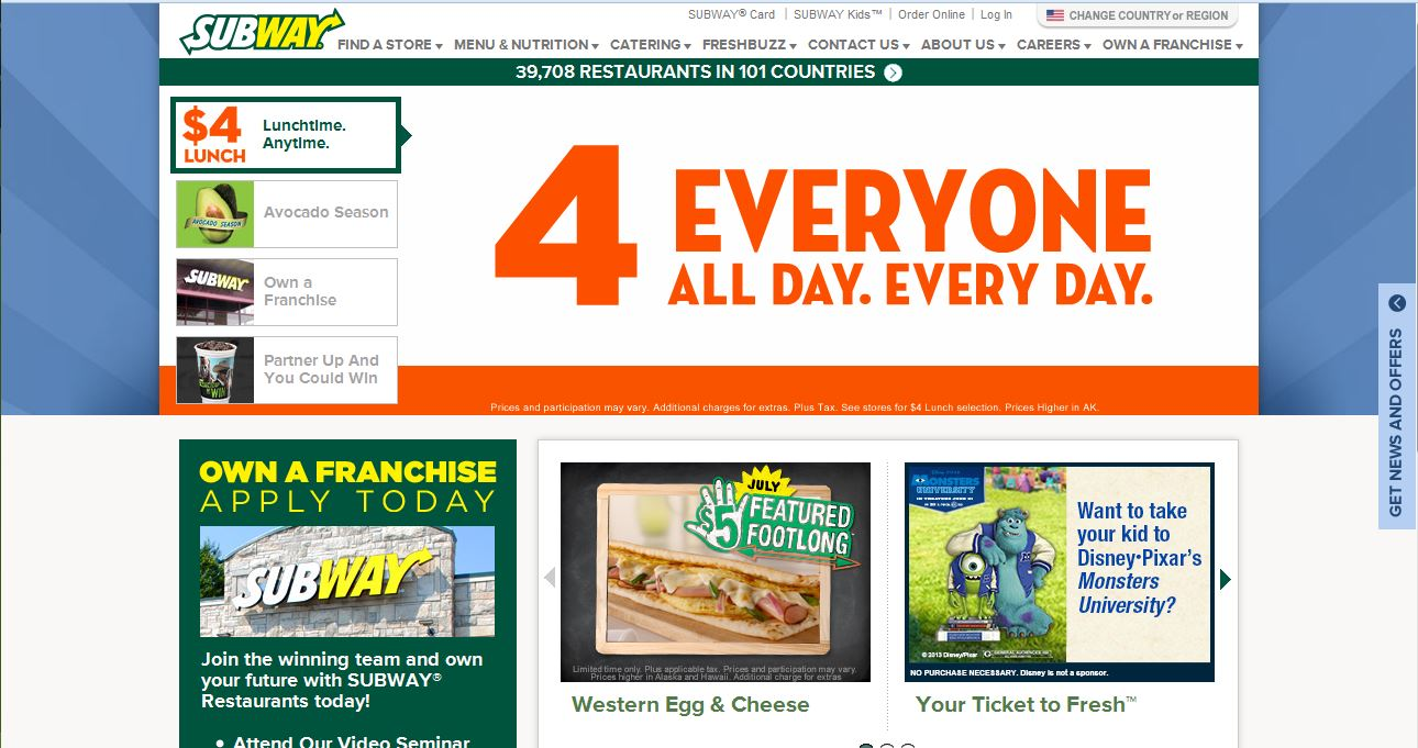 Cheap Fast Food Franchises To Start