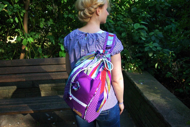 Rucksack Beach Bag von The Crafting Café Nähblog