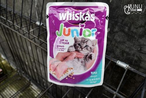 Makanan Basah Kucing Whiskas Junior Rasa Tuna Review Kunucats