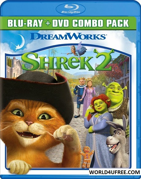 Shrek 2 2004 Dual Audio BRRip 480p 300Mb x264