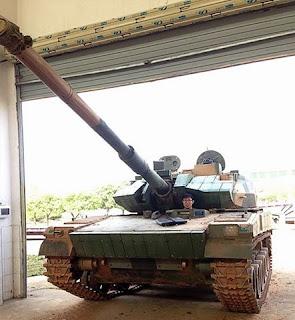 Zhuangjia Tanke Qingxing - Tank Lapis Baja Ringan
