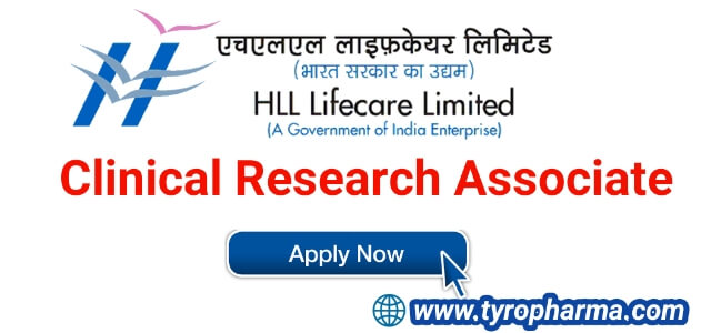 Clinical Research Associate job at HLL Lifecare Limited