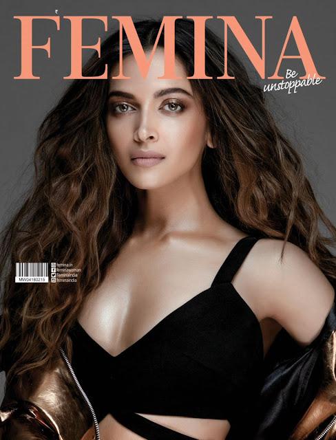 Deepika Padukone for Femina February 2018 Magazine_1