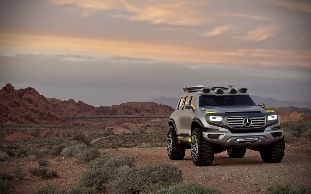 Car & Bike Fanatics: Mercedes Benz Ener-G Force SUV
