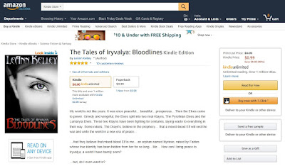 Amazon: The Tales of Iryvalya: Bloodlines