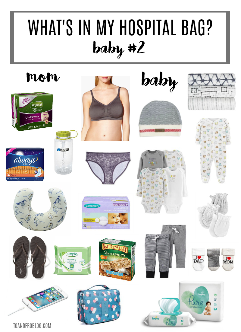 What I'm Packing in My Hospital Bag for Baby #2