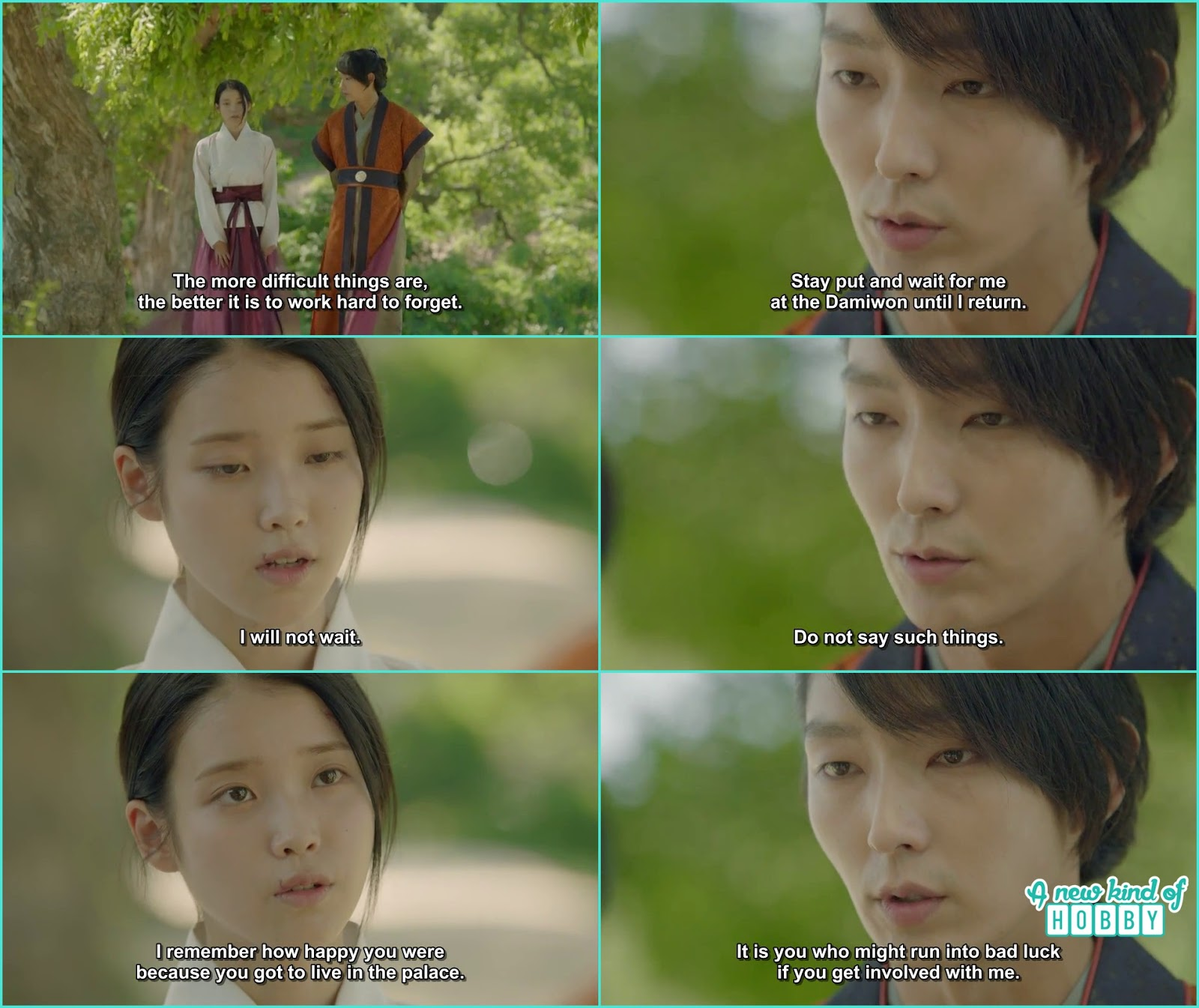 4th Prince Steal a Goodbye Kiss - Moon Lovers Ryeo - Episode 12 (Our