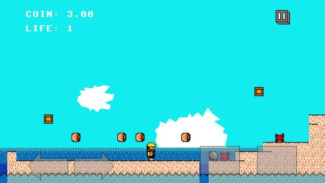 Game 8-Bit Jump 4