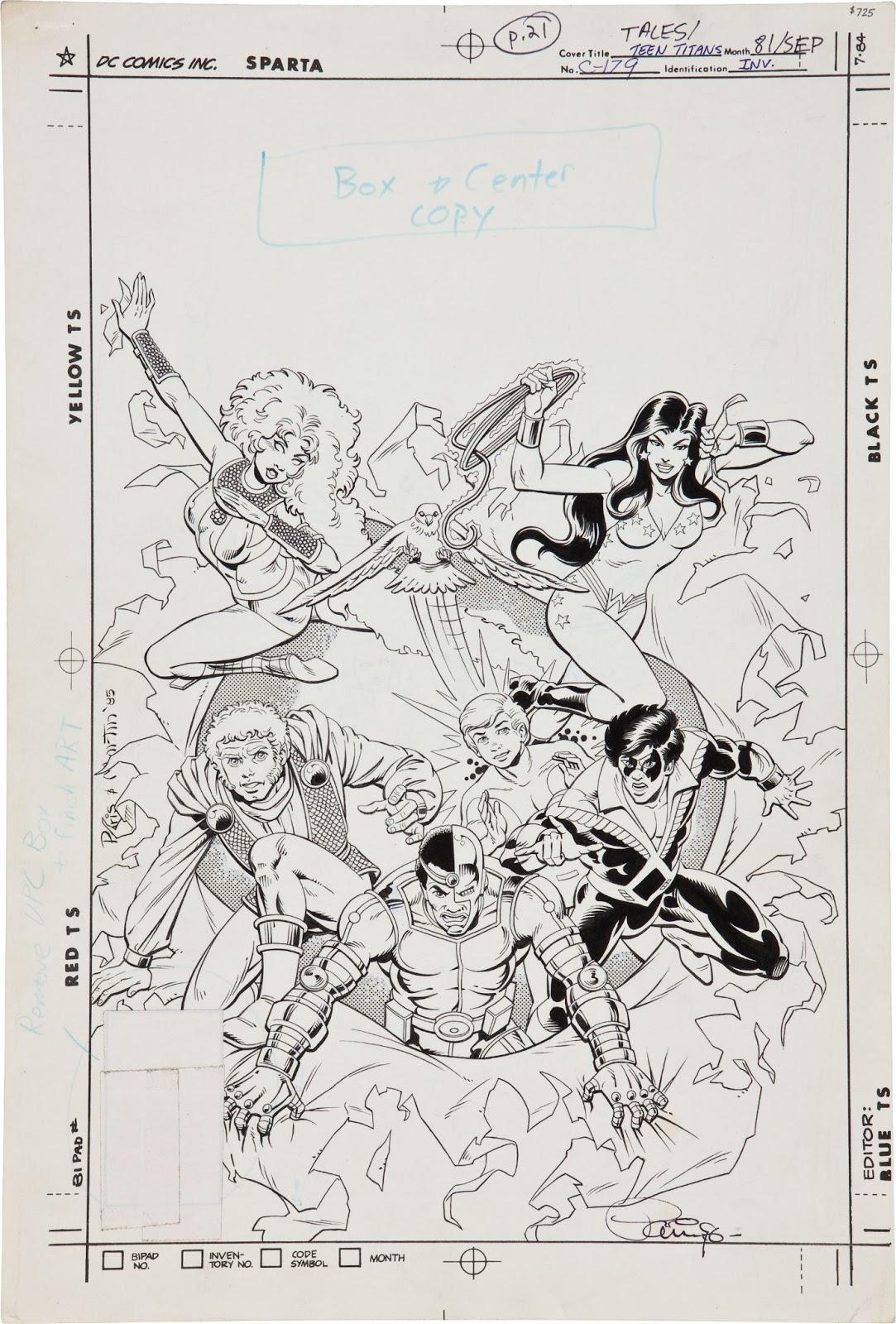 Dc Comics Of The S
