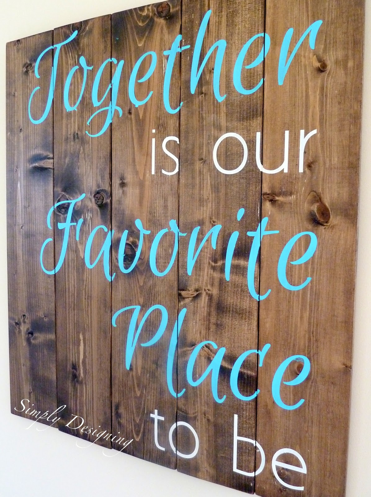 Funny Friday Quotes Humor: DIY Signs That Look Like Pallet Wood