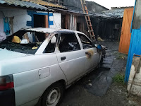 """Произошел пожар, объектом которого являлся легковой автомобиль """"ВАЗ-21102"""""""