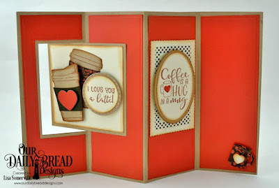 Stamp/Die Duos: Hug In A Mug, Paper Collection: Latte Love, Custom Dies: Lever Card, Lever Card Layers, Circles, Filigree Circles, Pierced Circles, Ovals, Pierced Ovals, Lavish Layers, Pennant Flags, Double Stitched Pennant Flags, Mini Cups & Mugs, Cups & Mugs