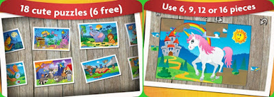 game android anak - Kids Animals Jigsaw Puzzles