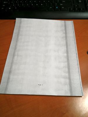 Cara Memperbaiki Hasil Fotocopy Bergaris Hitam Memanjang