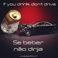 campanha Se beber não dirija garagem124