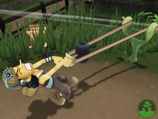 One Piece Grand Battle PS2 GAME ISO Screenshot 1