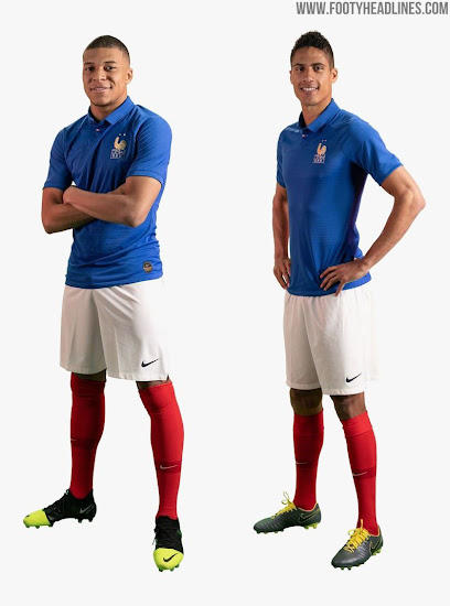 nouveaux styles 42954 bb41f Special-Edition Nike France Centenary Kit Released - Footy ...