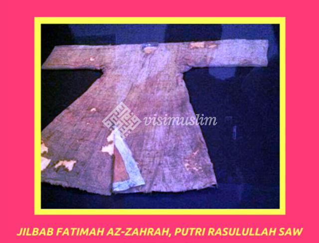 jilbab fatimah putri rasulullah