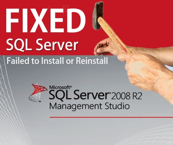 SQL Server Failed to Install or Reinstall - Install SQL Database.jpg