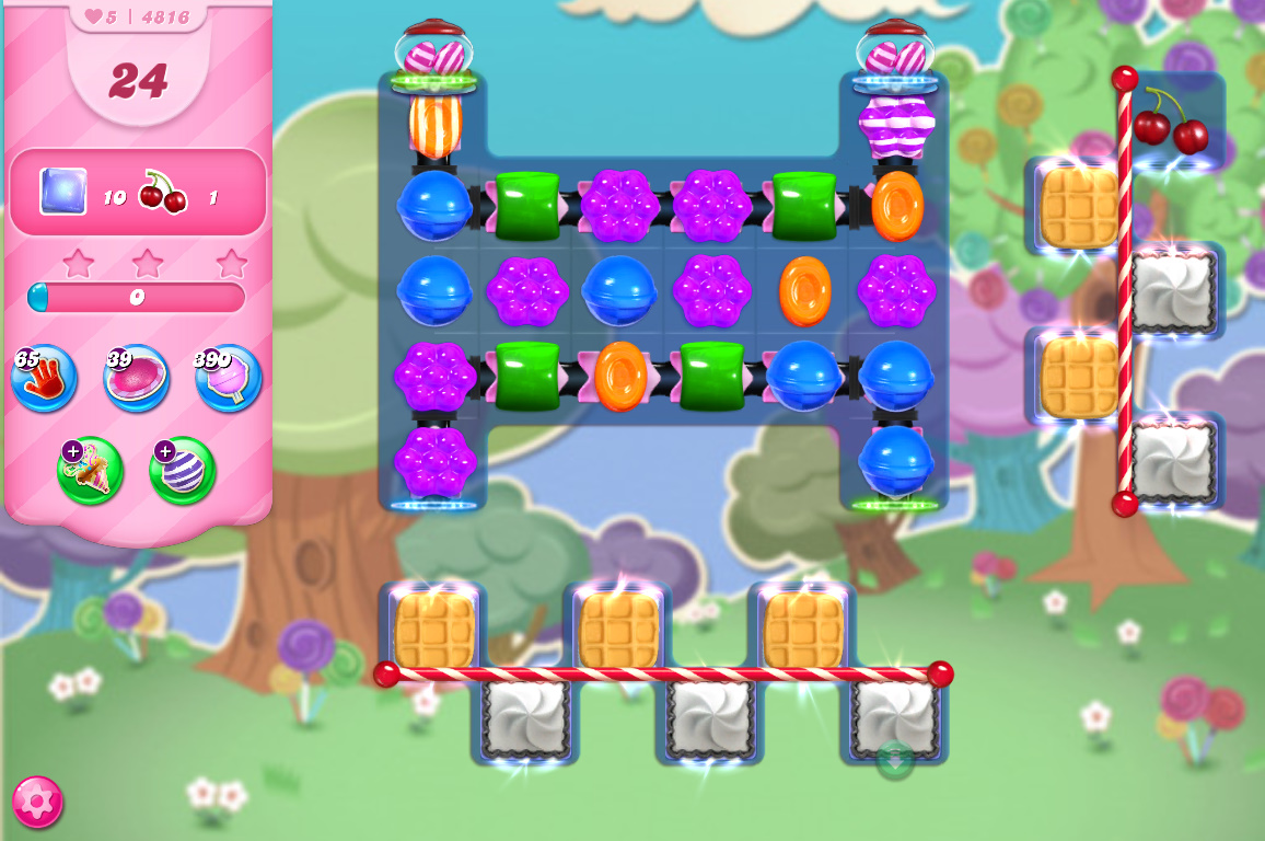 Candy Crush Saga level 4816