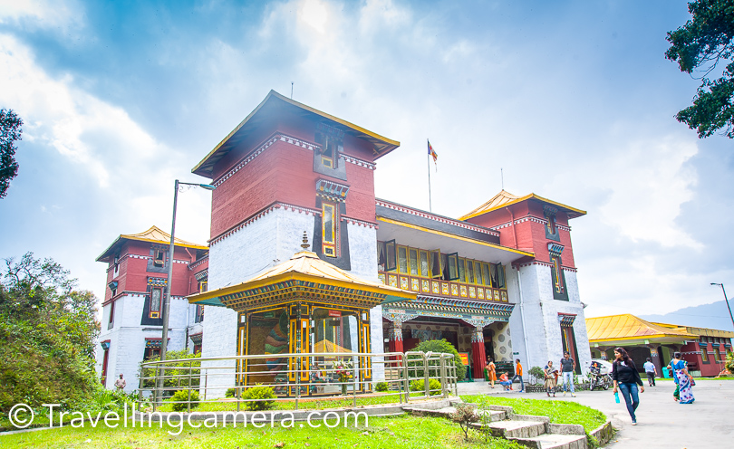 It's a Tibet museum in Gangtok, which is surrounded by trees and prayer flags. Located at a very peaceful place. Foundation of Namgyal Institute of Tibetology was set by 14th Dalai Lama in 1957 and then it was inaugurated by first prime minster of independent India in 1958. Photography is not allowed inside the museum and if you really want to explore this place well, keep at least 2 hrs for this place. Vibha really enjoyed going through some of the stuff showcased here.   Do Drul Chroten Stupa :  This stupa is near Namgyal museum only and at a walkable distance.
