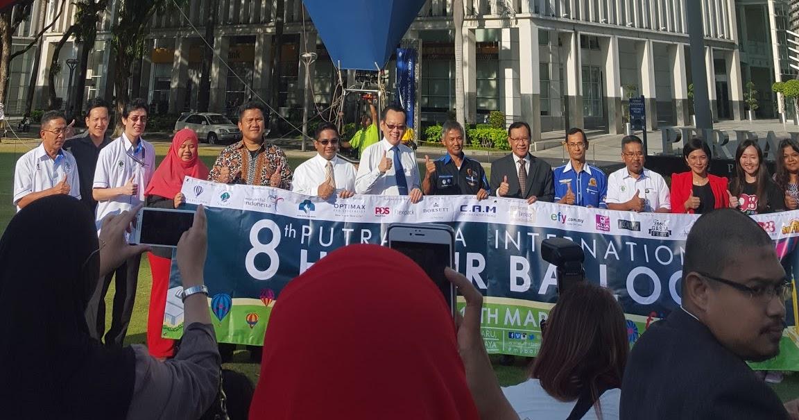Leave your own track: 8th putrajaya international hot air balloon ...
